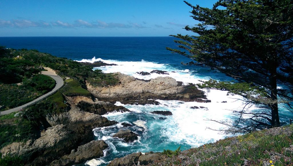 California coastline. Big Sur 1.