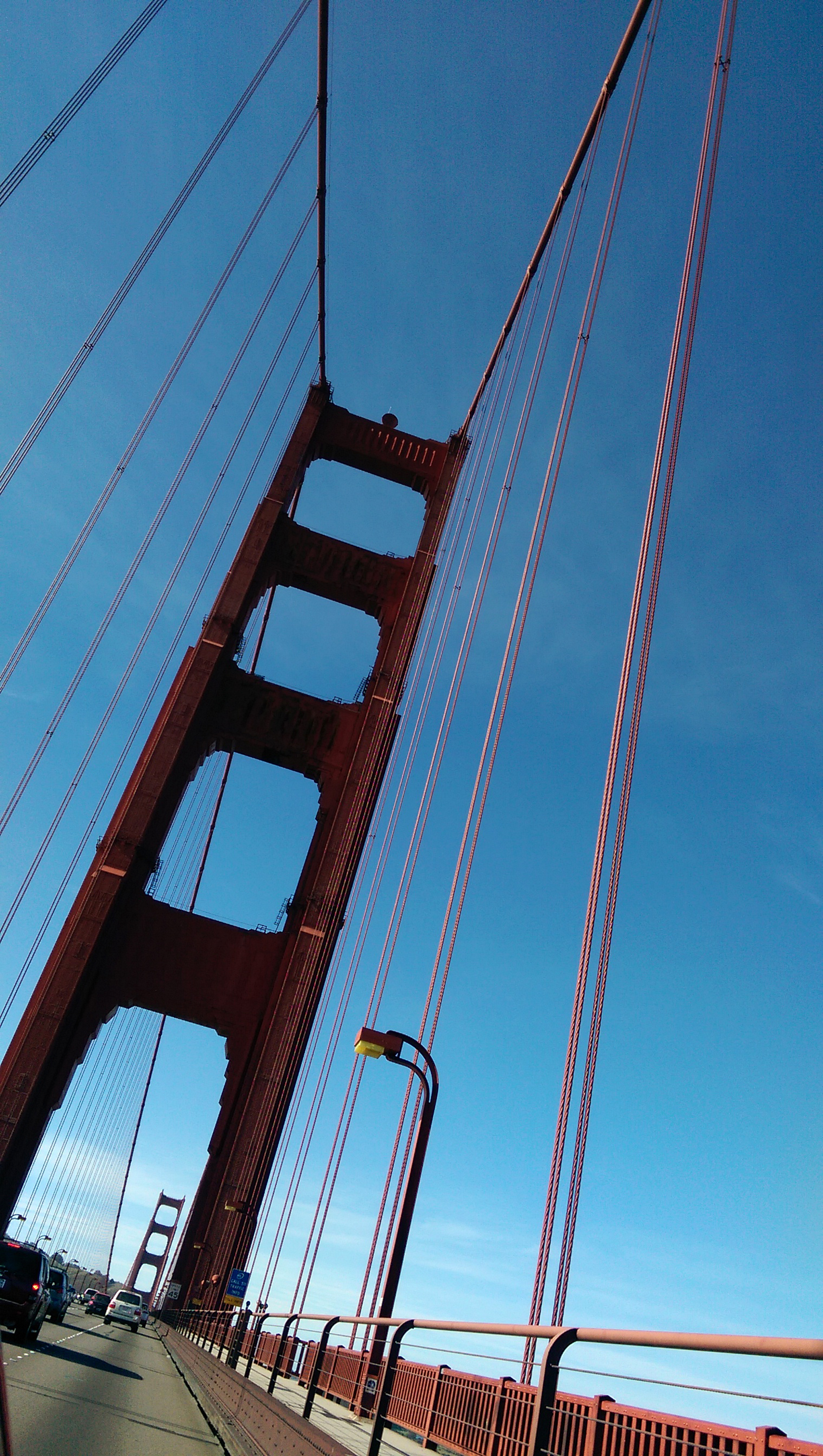 Sightseeing in San Francisco - Golden Gate Bridge