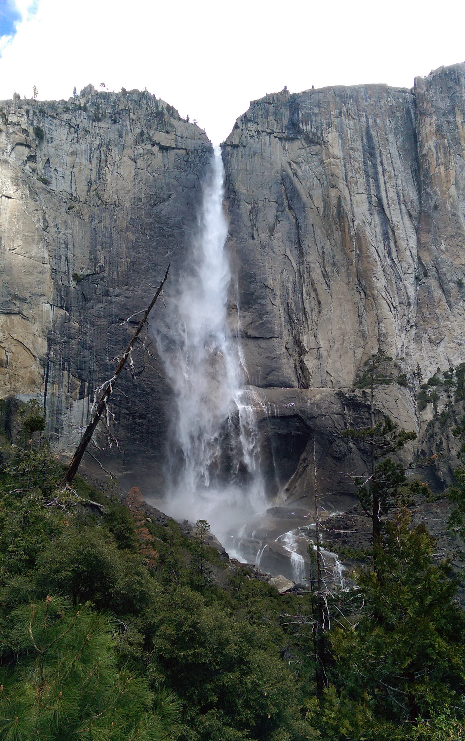 Hiking in Yosemite - Yosemite-Falls