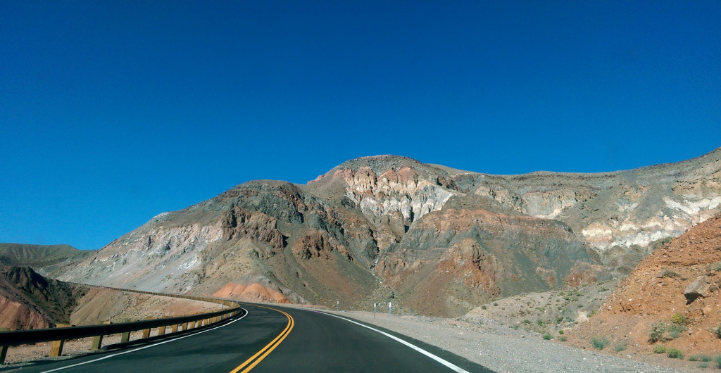 Road trip to Las Vegas - Death-Valley