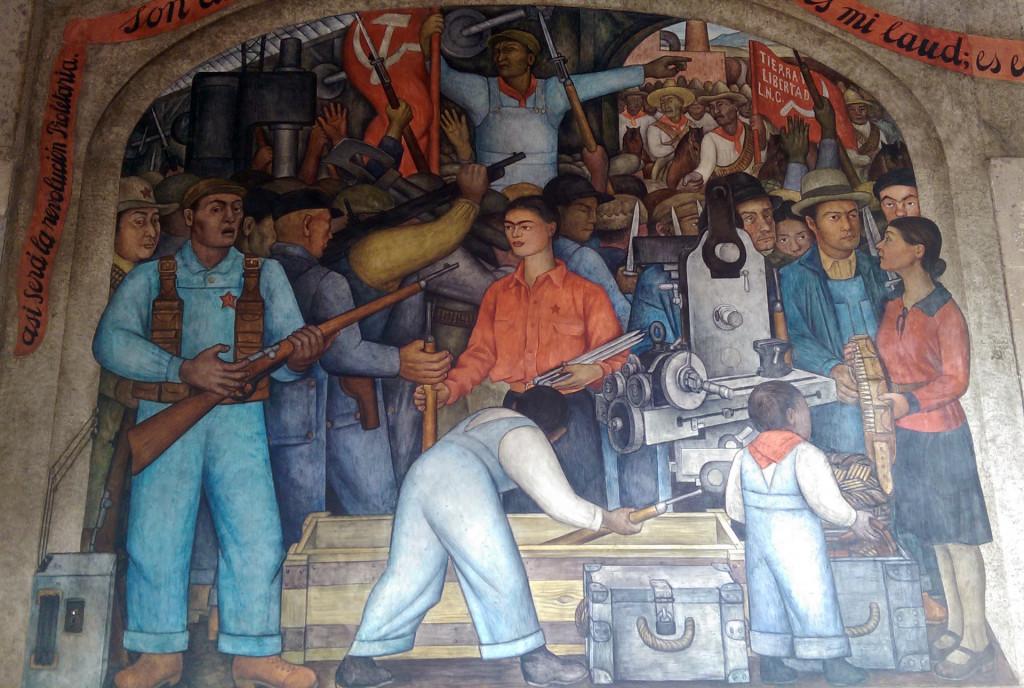 Mural---Diego-Rivera
