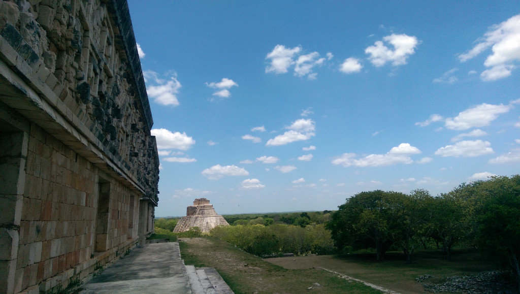 Uxmal---view-of-main-pyramid