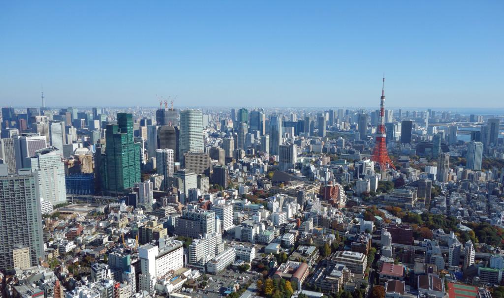 view of tokyo-Roppongi-Hills-Club