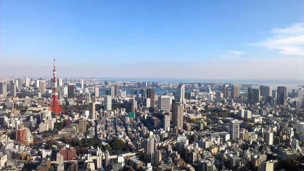 view of tokyo-Roppongi-Hills-club(2)