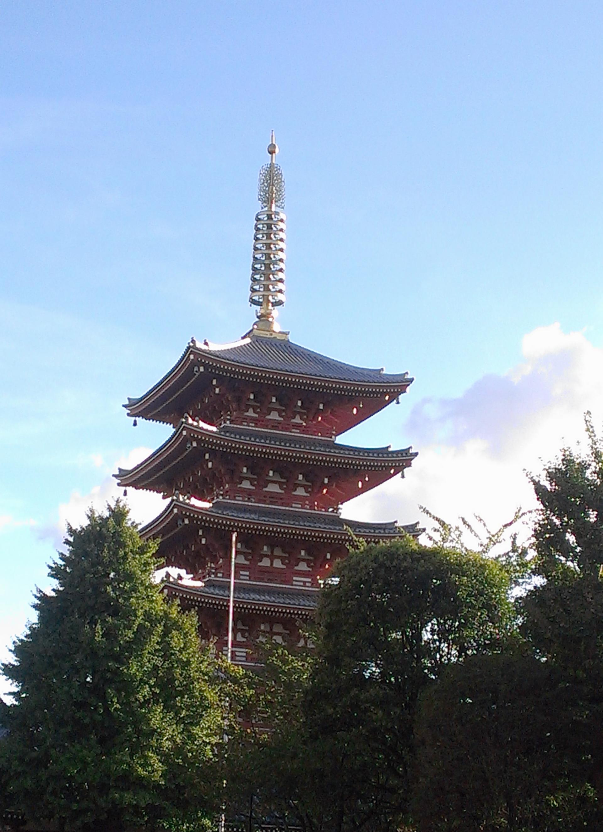 Cultural sight-five-storey-pagoda