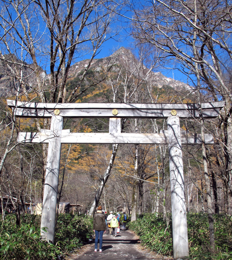 Kamikochi-shrine
