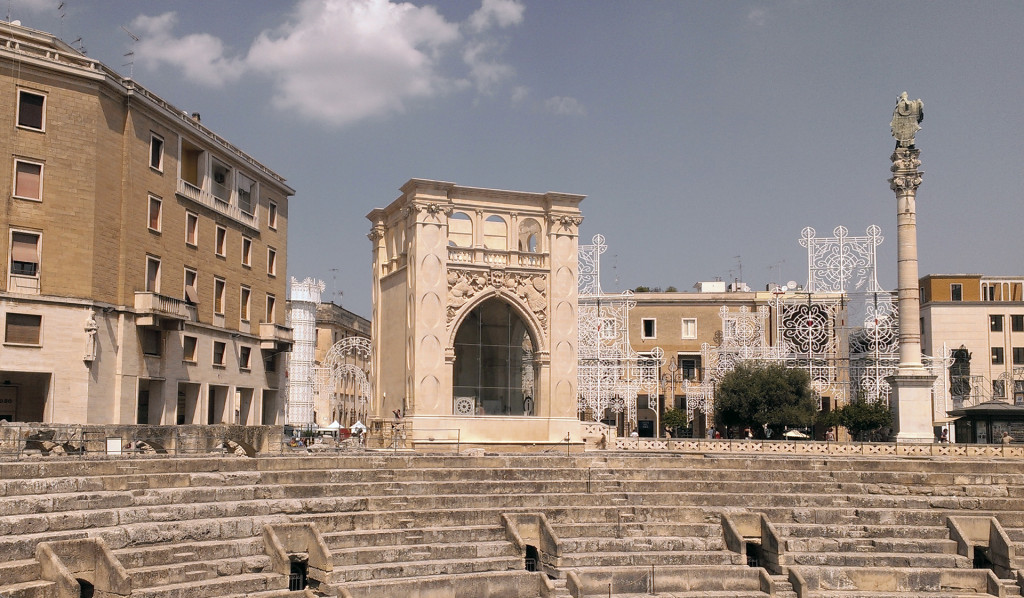 Lecce-amphitheatre