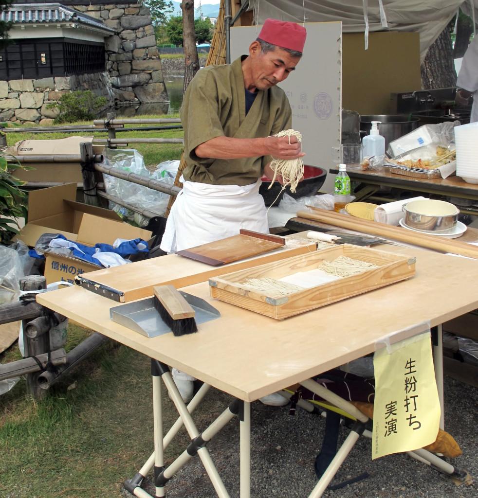 Matsumoto-soba-maker