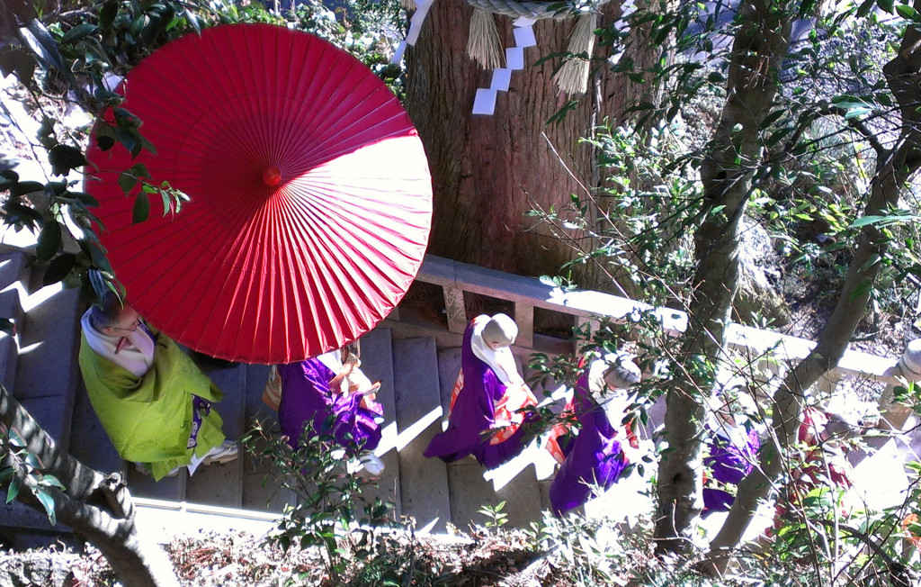 Mount-Takao-procession