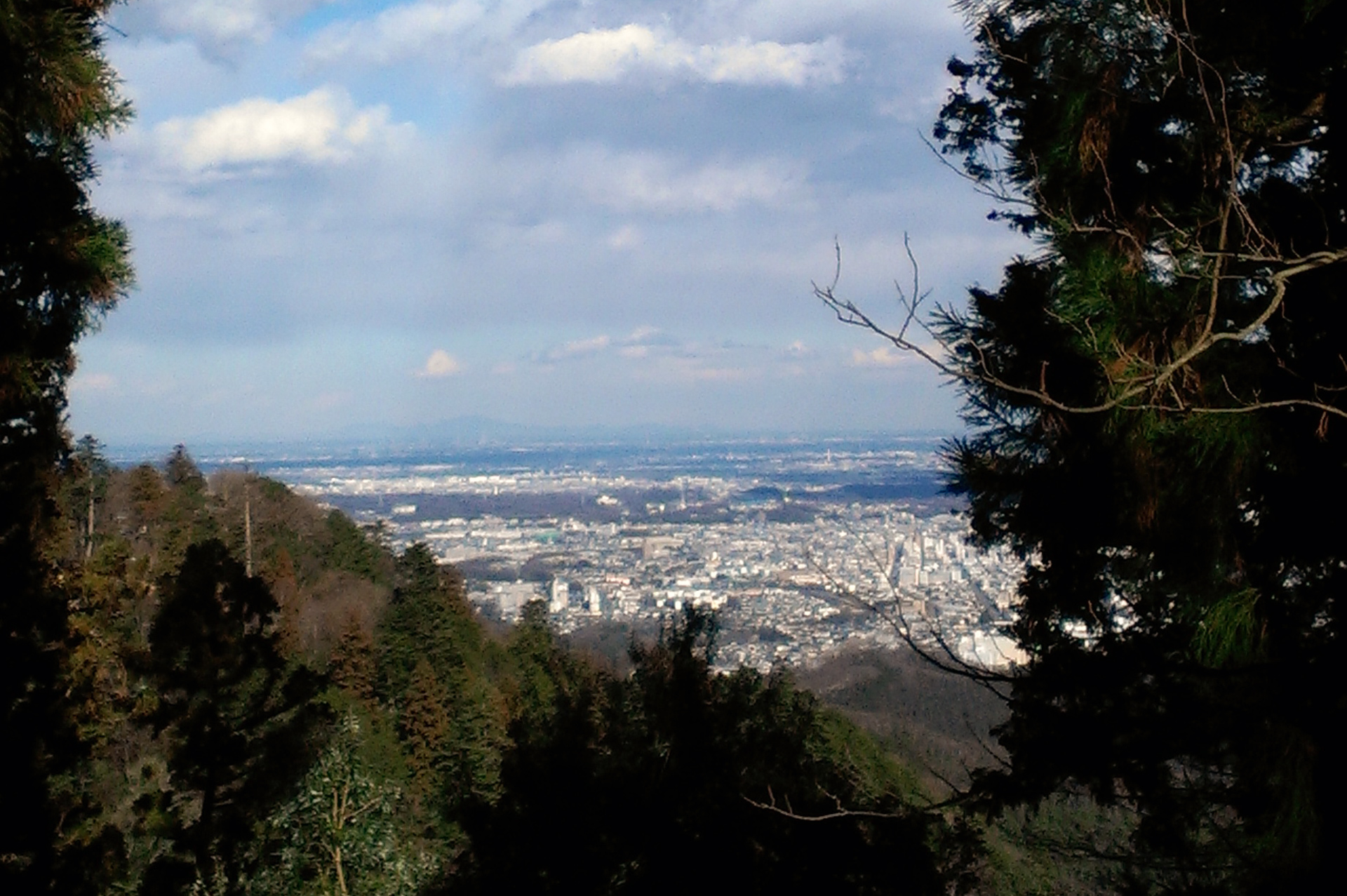 Mount-Takao-view(2)