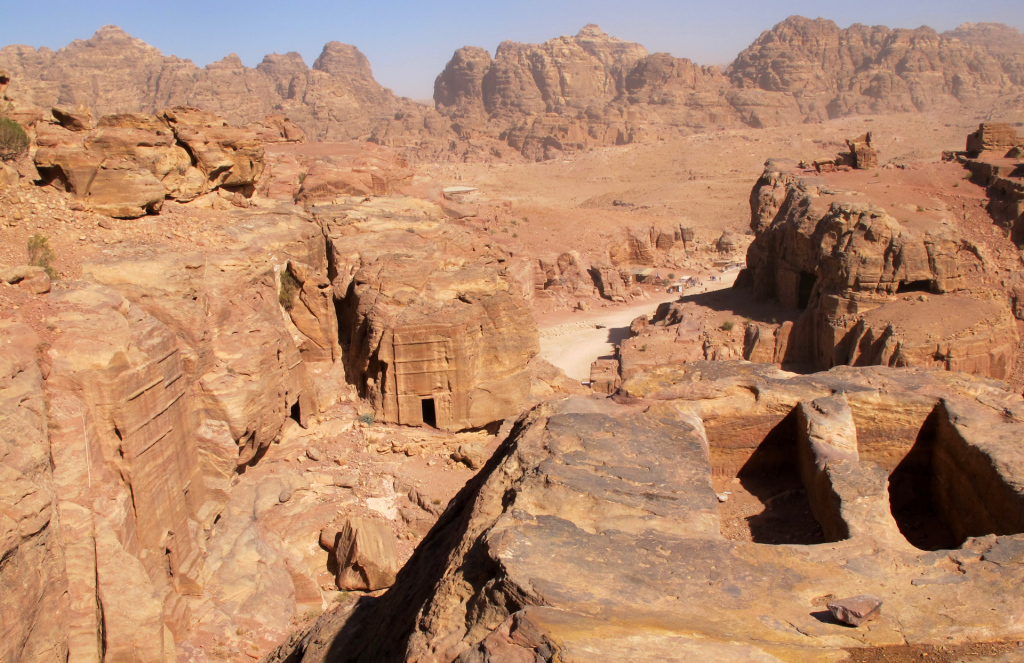 Petra-view-over-the-valley