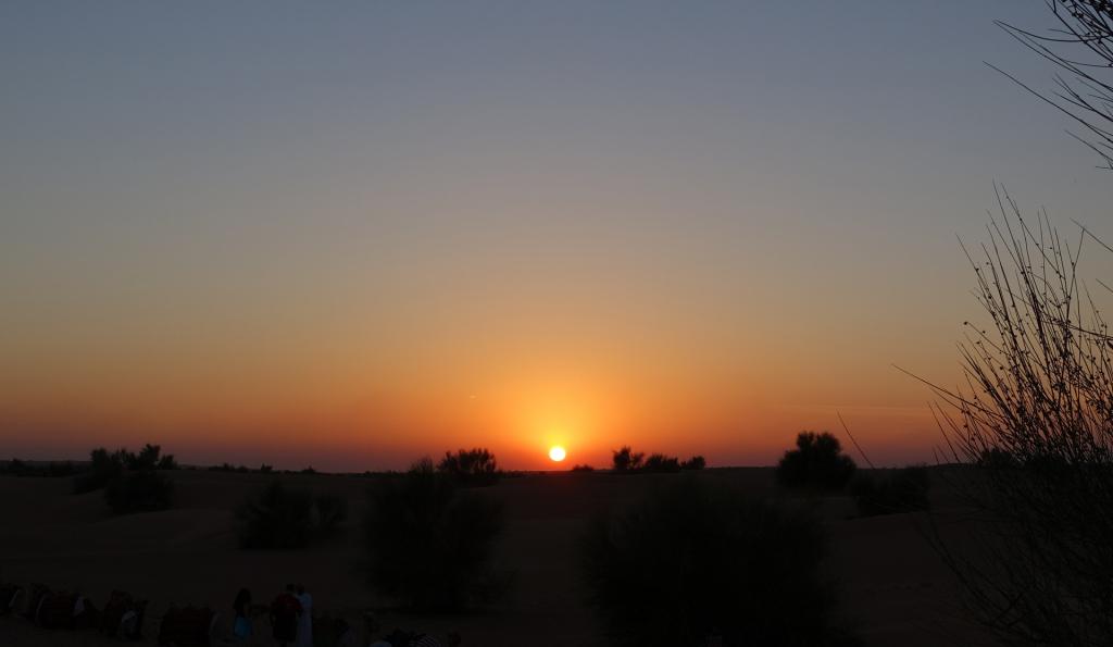 Al-Maha-sunset