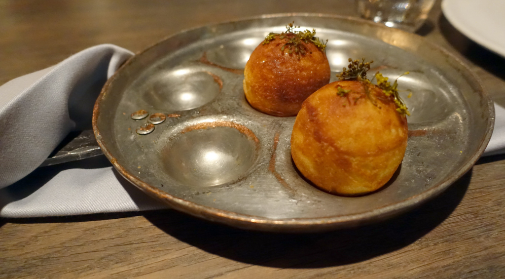 Noma-Aebleskiver-and-greens