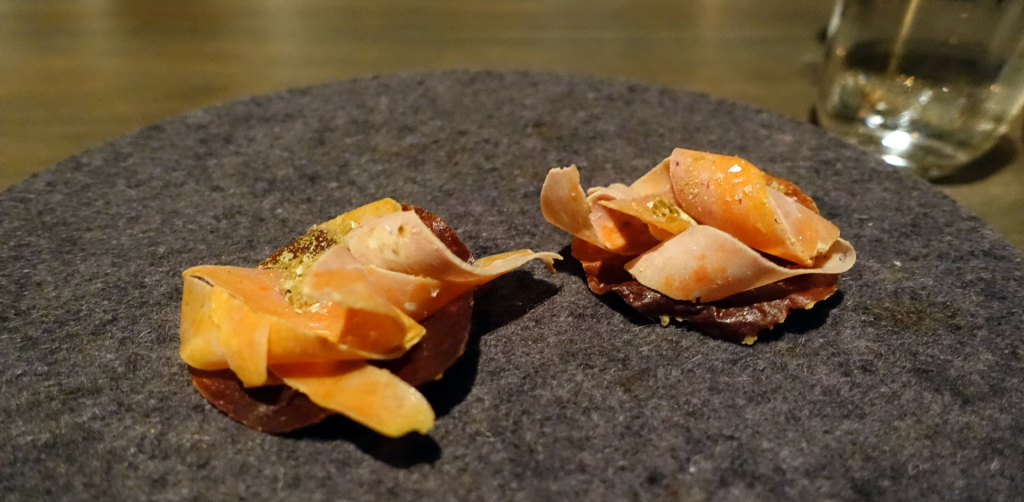 Noma-caramelized-milk-and-monkfish-liver