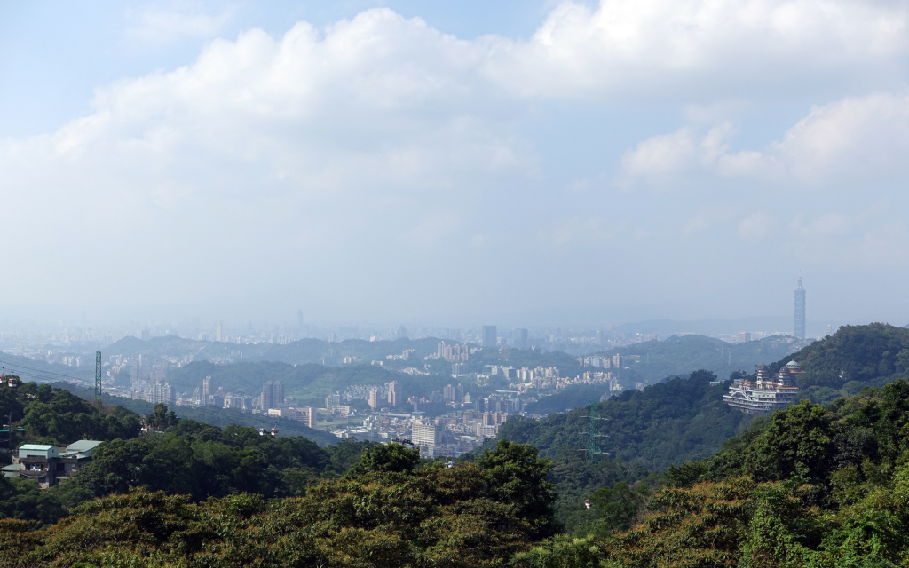 Taipei-Maokong-view-from-the-top