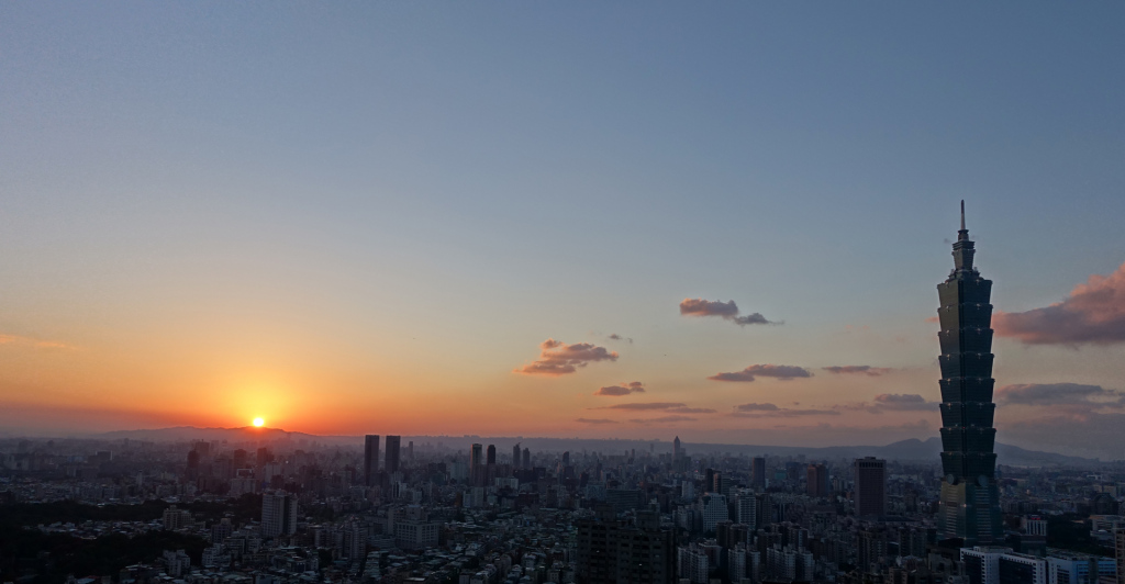 Taipei-sunset