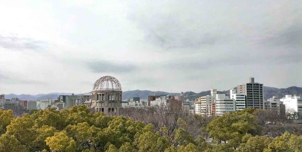 Hiroshima-view-of-dome-from-our-ryokan