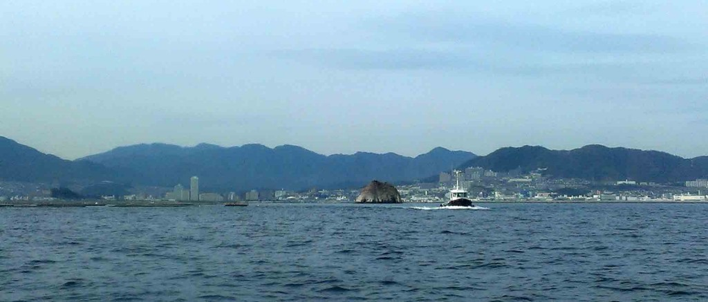 Miyajima-view-from-boat