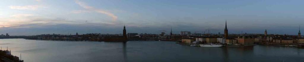 Stockholm-panorama-view-of-Gamla-Stan from Monteliusvägen
