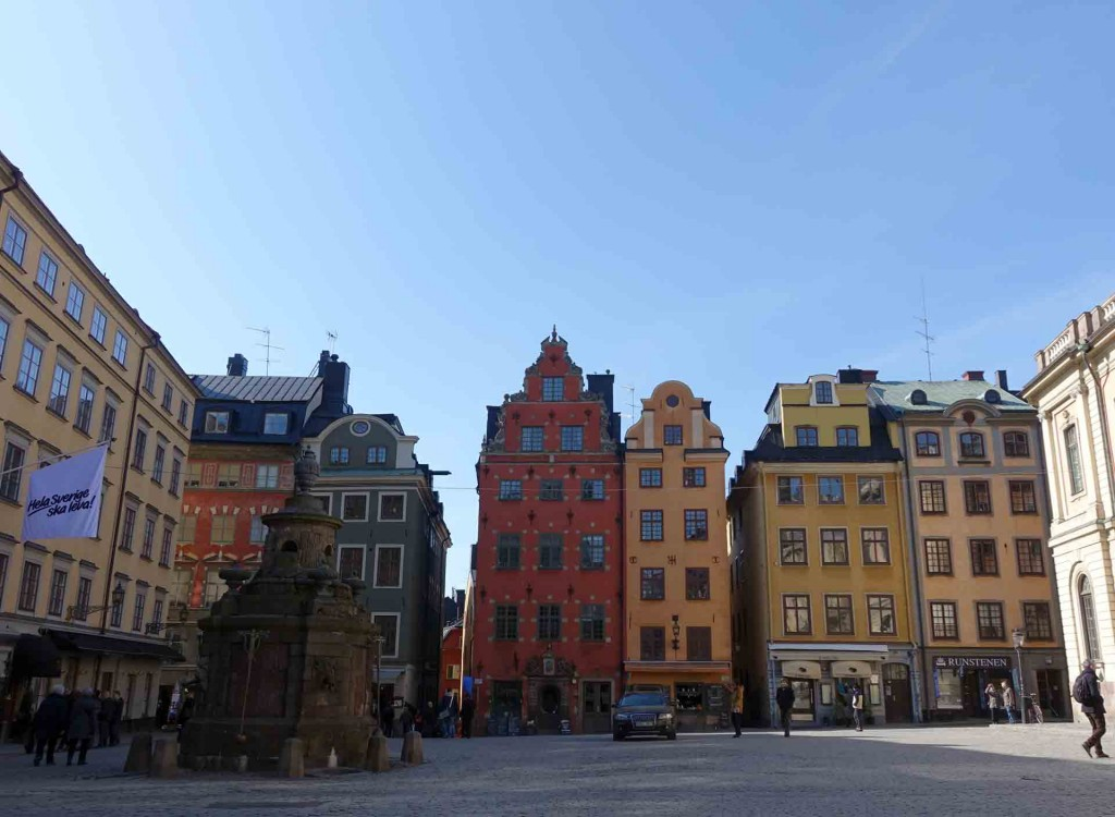 Stockhom-Stortorget-Square