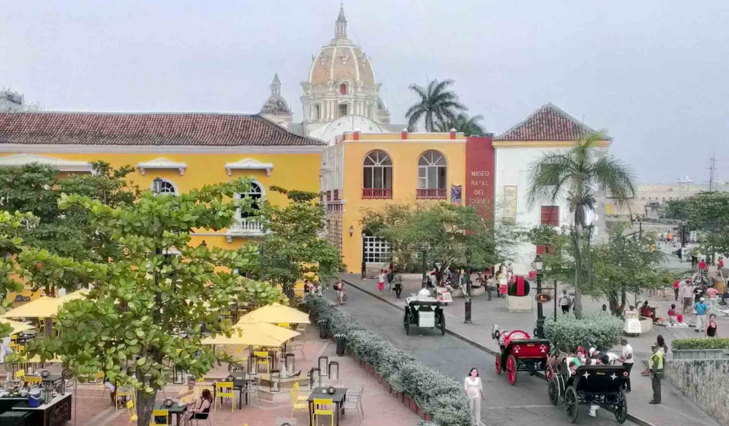Colombia-Cartegena-from-the-city-walls