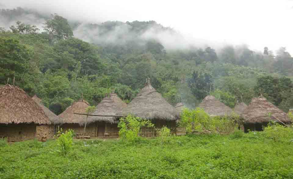 Colombia-Lost-City-trek-village