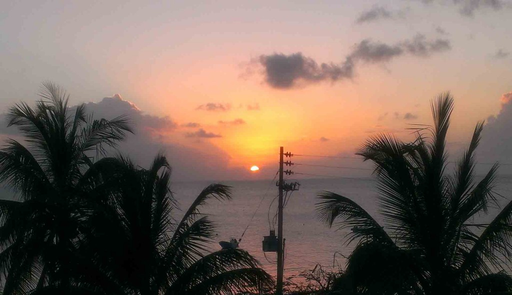 Colombia-Providencia-sunset