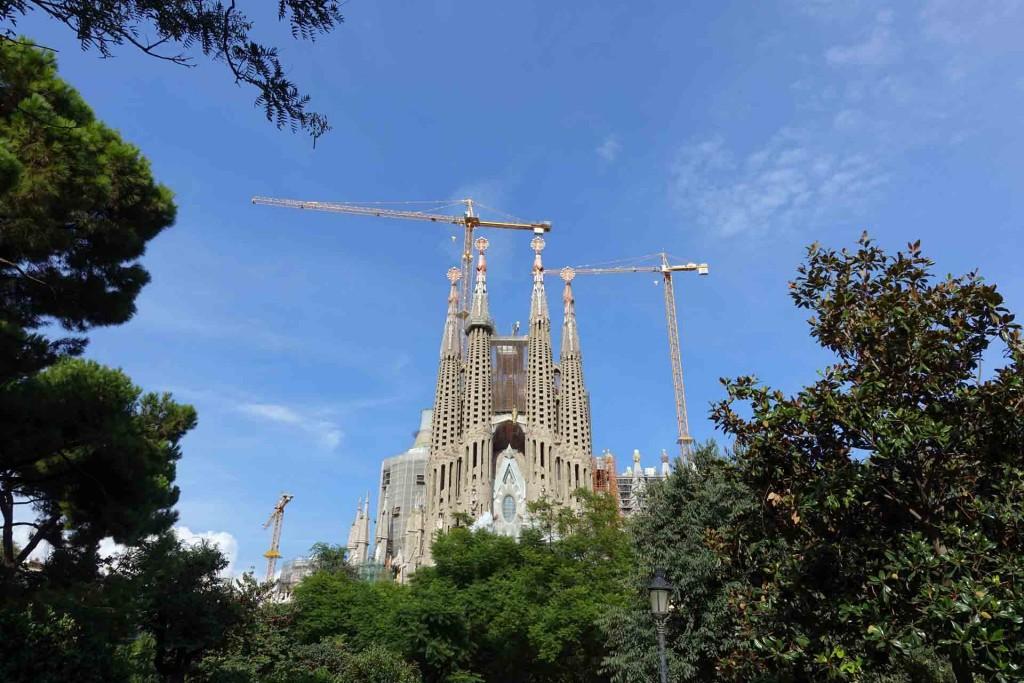 Barcelona-view-Sagrada-Familiia